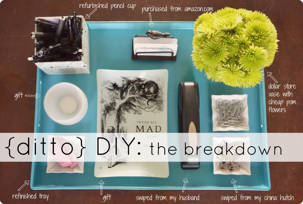 Ditto DiY--the breakdown