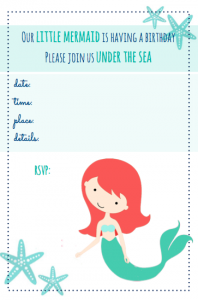 image about Mermaid Templates Printable referred to as Totally free Mermaid Printables for Young children Beach front Birthday Dwelling