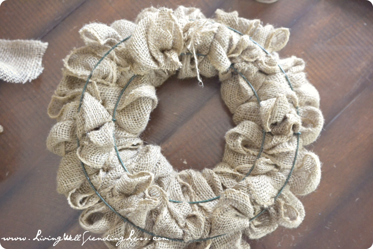 Create Your Own Personal Planner Diy Burlap Wreath Living Well Spending Less 174