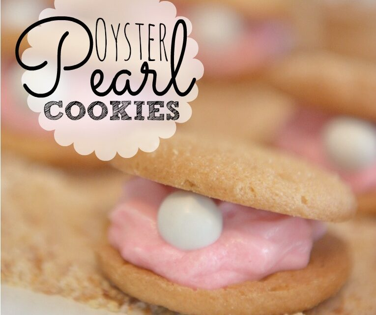 "Oyster ""Pearl"" Cookies"