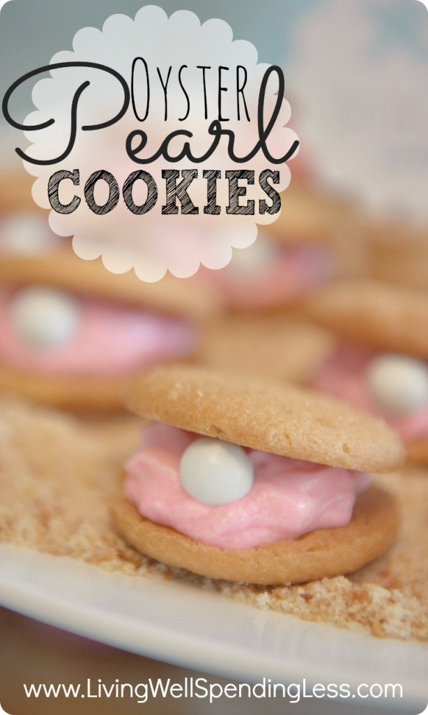 Oyster Pearl Cookie Recipe | Ariel's Oyster Pearl Cookies | Oyster Cookie Recipe | mermaid themed | mermaid party | mermaid themed food | Party food | How To Make Oyster Cookies | oyster shaped cookies | cookie recipe