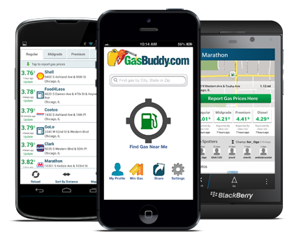 GasBuddy is a great money saving app that will help you save at the pump.