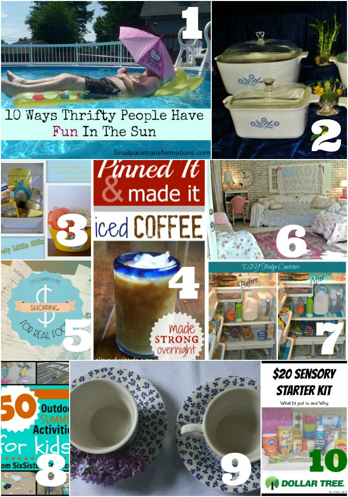Thrifty Thursday Week 13 Features