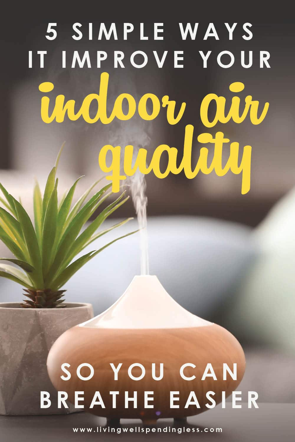 Does your family struggle with asthma or allergy issues? How have you improved your own indoor air quality? These 5 tips can help! Improve Indoor Air Quality | Home Ventilation Systems | Apartment Therapy | Reduce Air Pollution | Home Remodeling Ideas