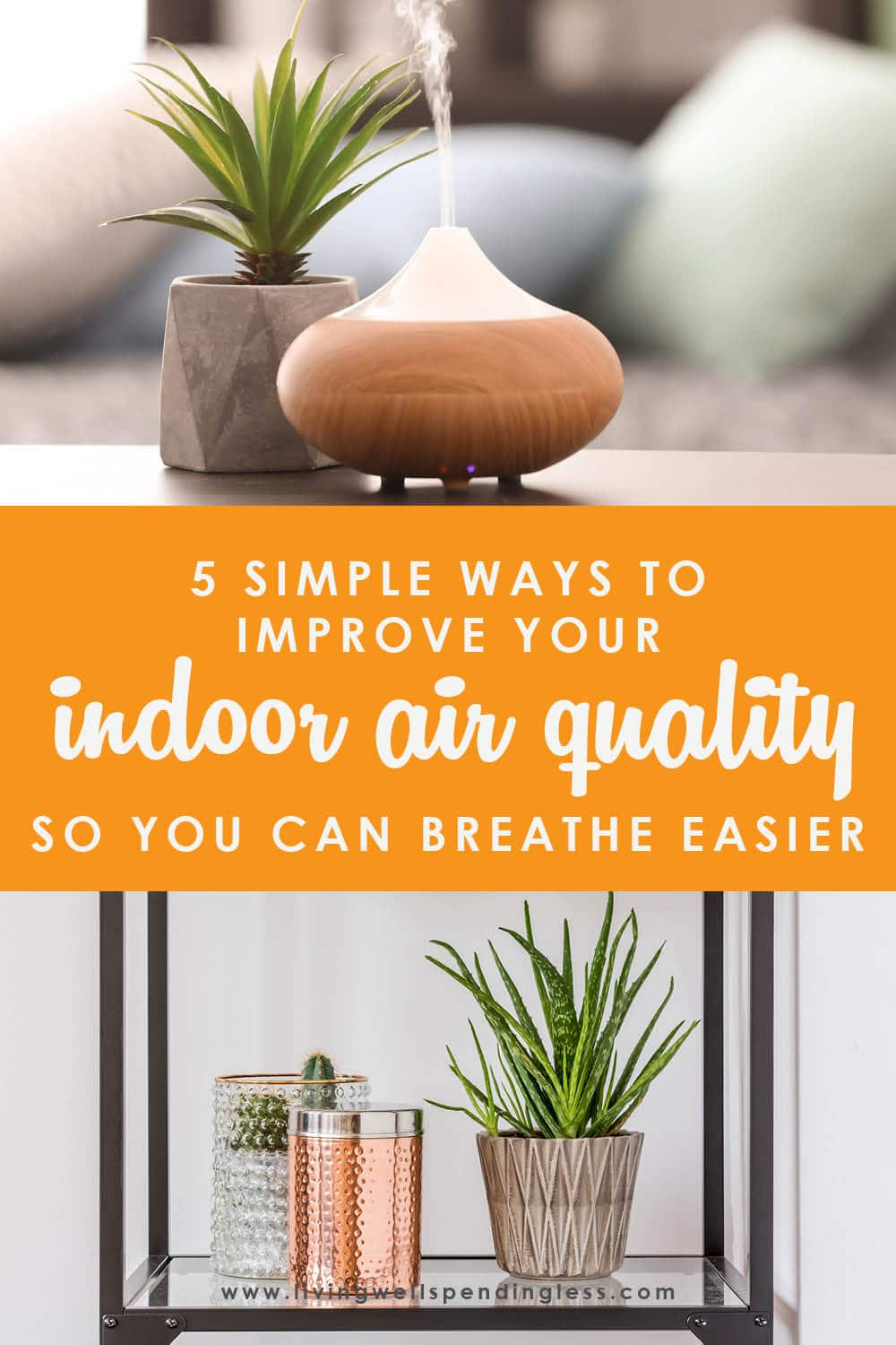 Does your family struggle with asthma or allergy issues? How have you improved your own indoor air quality? These 5 tips can help! Improve Indoor Air Quality | Home Ventilation Systems | Apartment Therapy | Reduce Air Pollution |