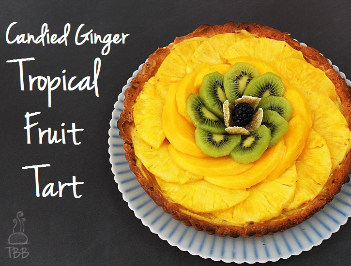 Candied-Ginger-Tropical-Fruit-Tart