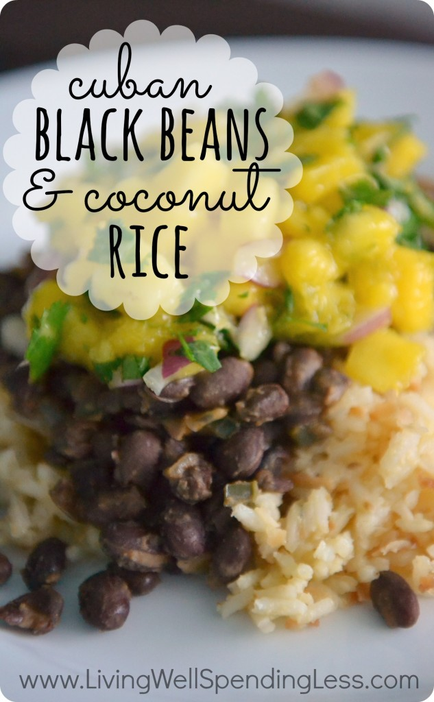 Black Beans & Coconut Rice | Food Made Simple | Vegetarian Food | Coconut Rice with Black Beans | Coconut Rice & Beans | Coconut Rice Beans Recipe