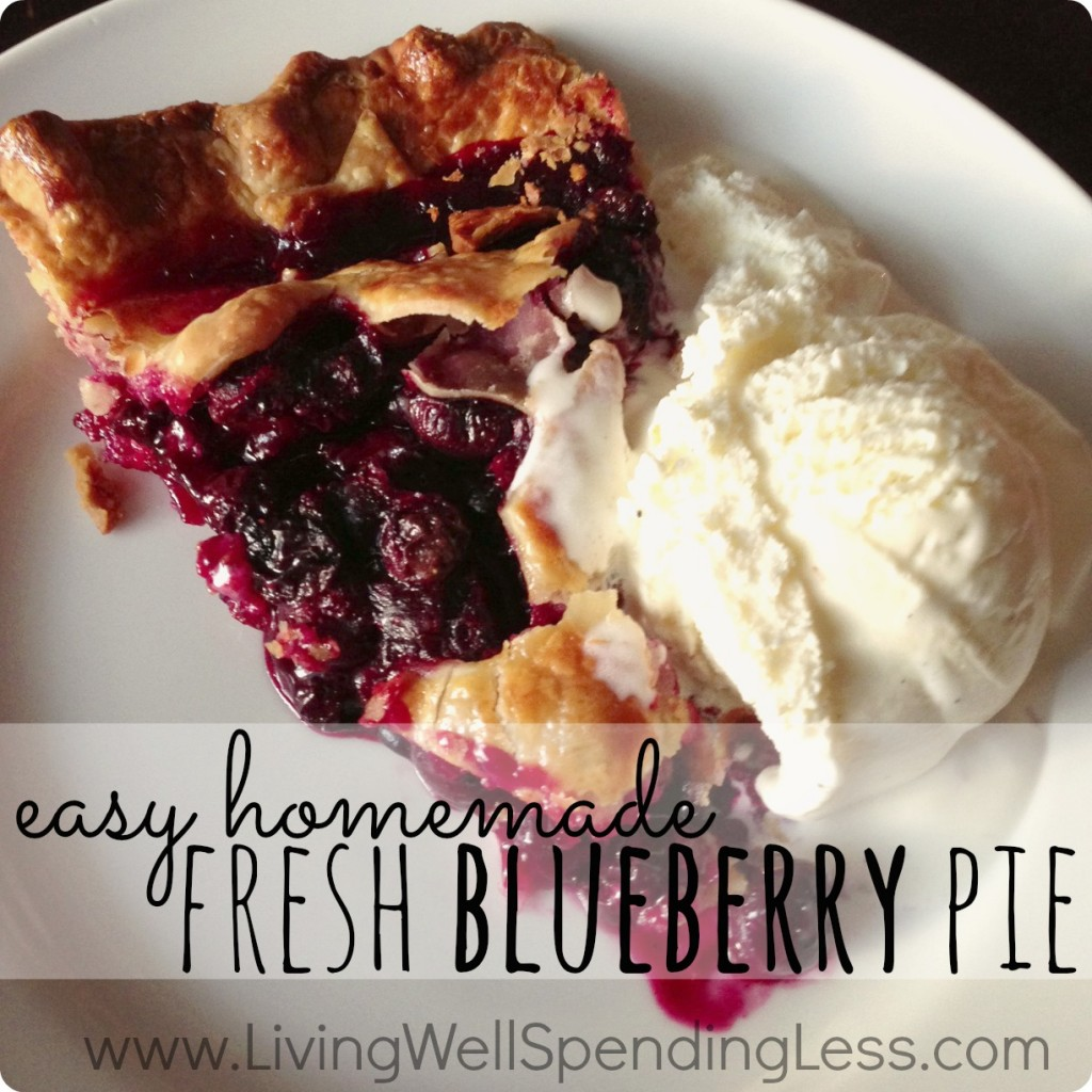Easy Homemade Blueberry Pie | Homemade Blueberry Pie | Easy Blueberry Pie | Yummy Homemade Blueberry Pie | Blueberry Pie Recipe | Classic Blueberry Pie Recipe | Pie Recipes