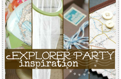 Explorer Party Inspiration