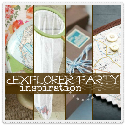 Explorer party inspiration square