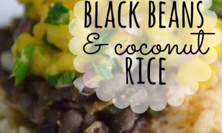 Black Beans & Coconut Rice