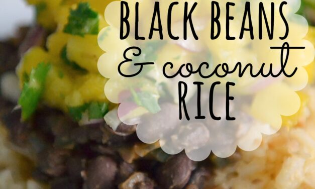 Black Beans & Coconut Rice
