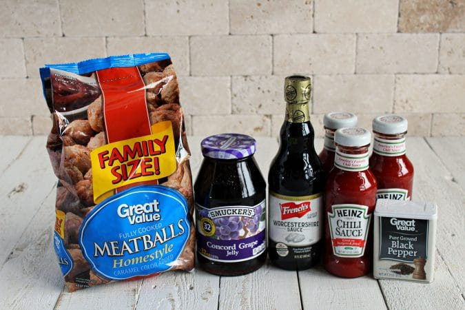 ingredients for sweet and sour crockpot meatballs