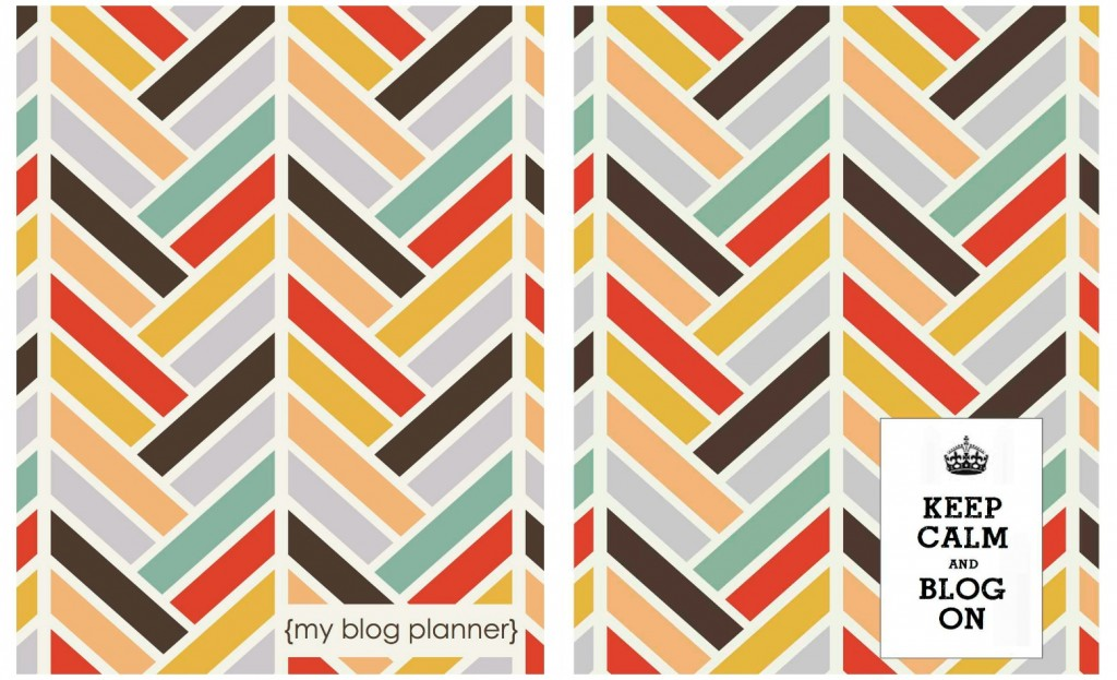 Blog planner covers