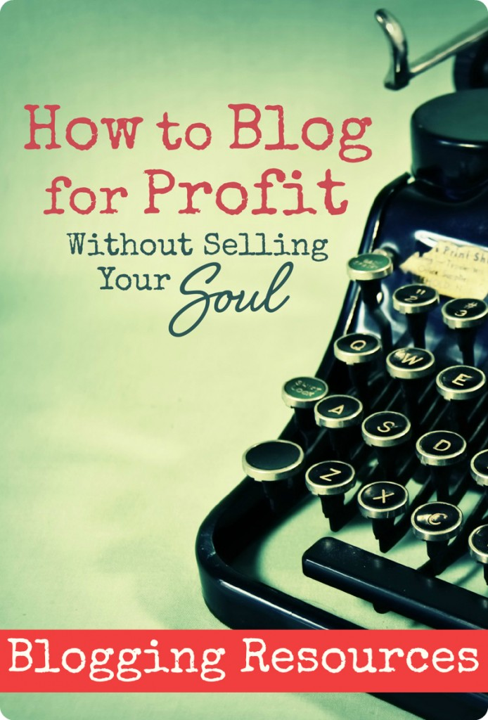 How to Blog For Profit Recommended Blogging Resources