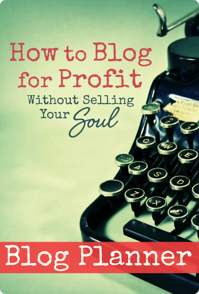 How to Blog for Profit--FREE Printable Blog Planner. One of the most comprehensive & helpful blog planners available--includes everything you need to manage, plan, & organize your blog!