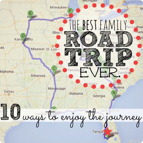 Best Family Road Trip | Family Road Trip Ideas | Road Trip Tips | Road Trip Hacks | Planning a Road Trip |Family Travel