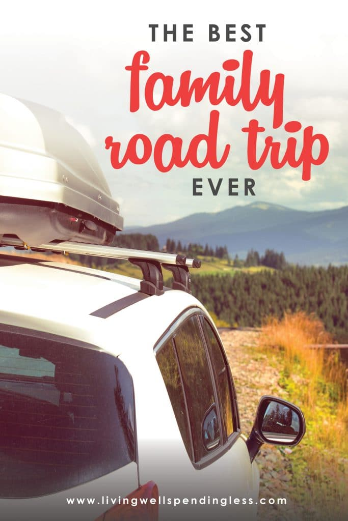 The Best Family Road Trip Ever. (10 ways to truly enjoy the journey) Great tips and awesome insight from our 29 day, 4,000 mile road trip with the family. Don't even think about planning a road trip without reading this post first!
