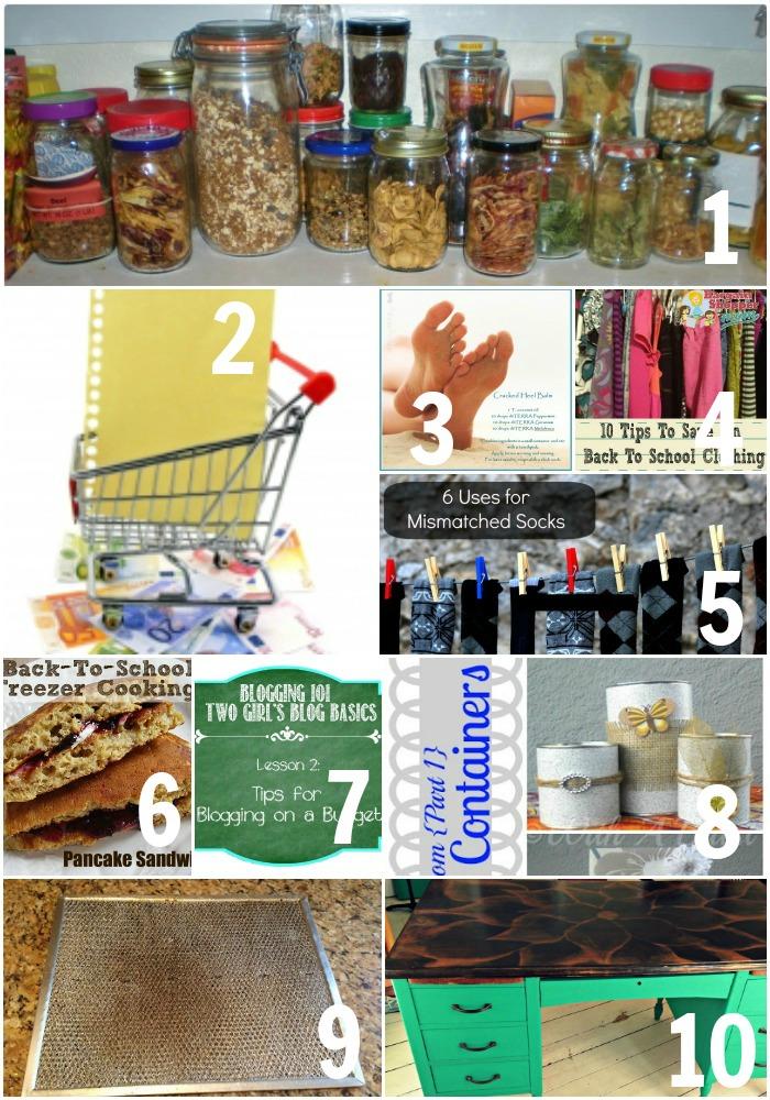 Thrifty Thursday Week 22 Top Ten