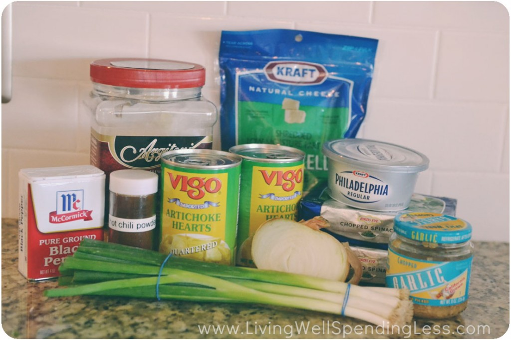 Hot Spinach Artichoke Dip Recipe - Living Well Spending Less®