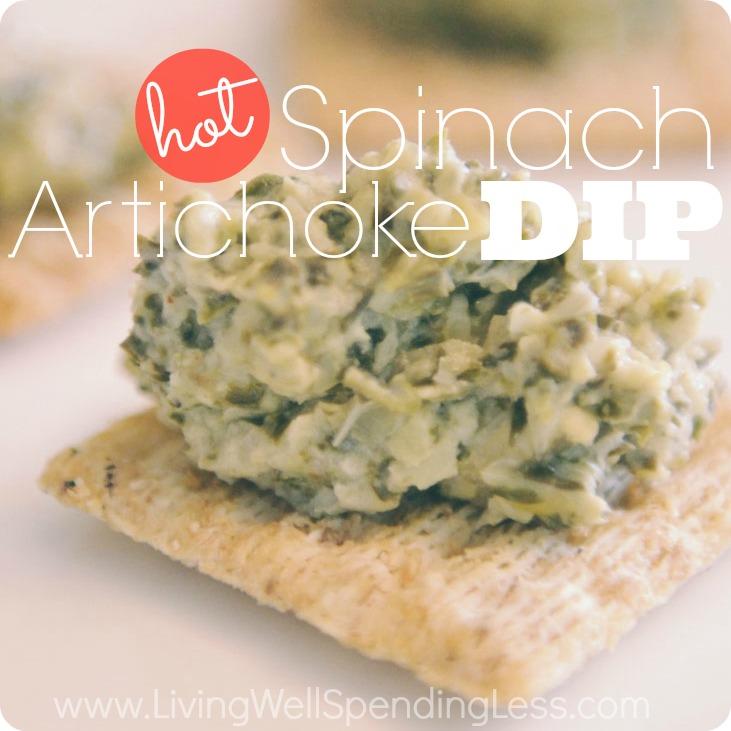 Hot Spinach Artichoke Dip Recipe | Hot Artichoke and Spinach | Spinach Artichoke Dip Recipe | cheesy spinach artichoke dip