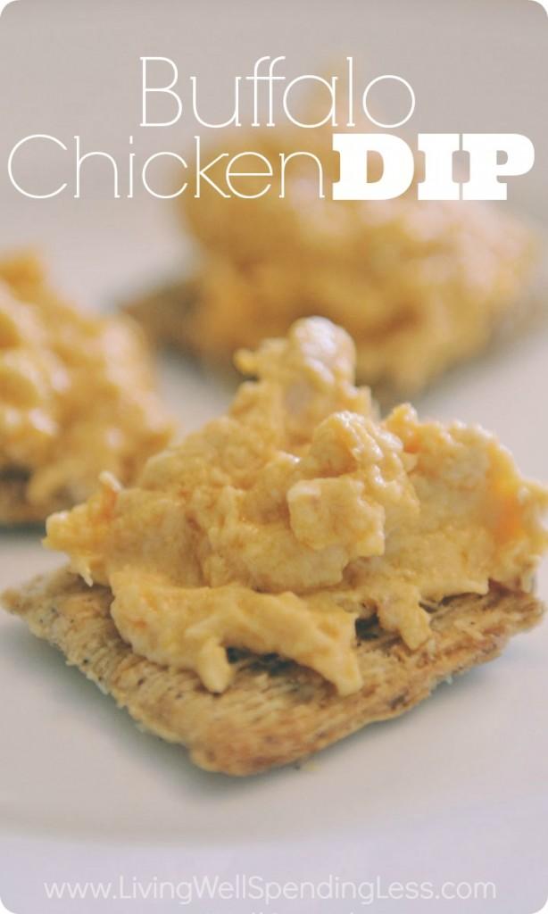Easy Buffalo Chicken Dip Recipe | Dip Recipes | Party Food | Easy Buffalo Chicken Dip