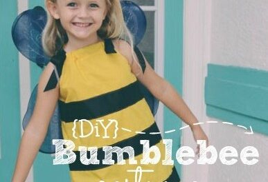 Halloween DiY: Bumblebee Costume {Part 2}