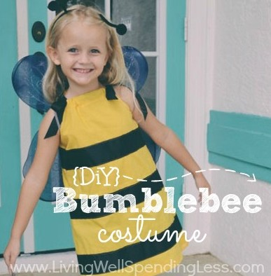 DIY Bumblebee Costume | How to Make a Bee Costume | NO-SEW Bee Costume | DIY Bee Costume | Homemade Bumblebee Costume