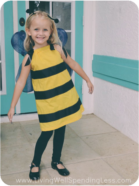 DIY Bumblebee Costume Instructions