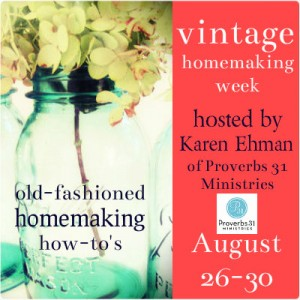 Vintage Homemaking Week