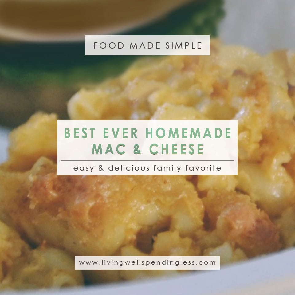 Best Ever Homemade Mac & Cheese | Macaroni & Cheese | Mac and Cheese Recipe | Easy Macaroni and Cheese | Cheesy Macaroni | Baked Macaroni and Cheese | Pasta Recipe