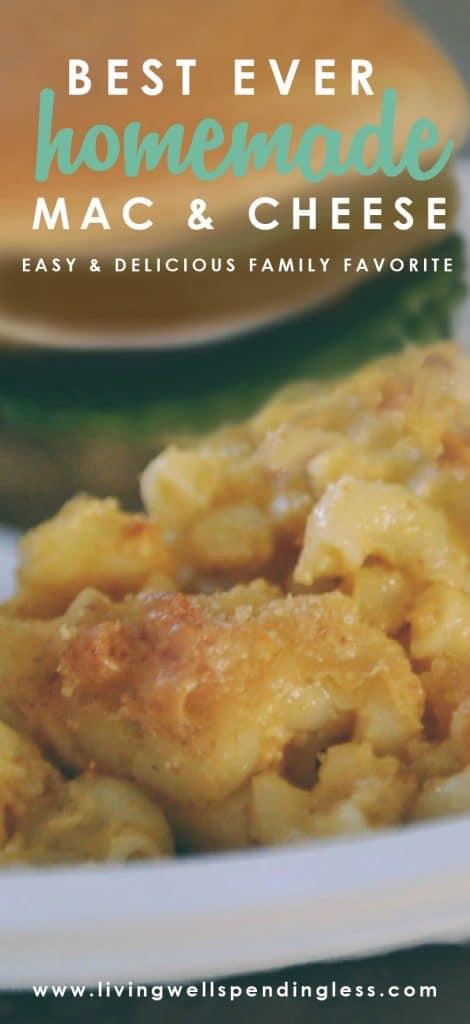 Best Ever Homemade Mac & Cheese | Macaroni & Cheese | Mac and Cheese Recipe | Easy Macaroni and Cheese | Cheesy Macaroni | Baked Macaroni and Cheese | Pasta Recipe