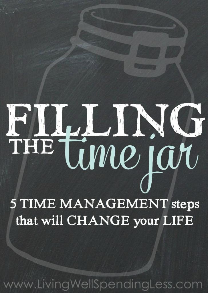 Filling the Time Jar Vertical