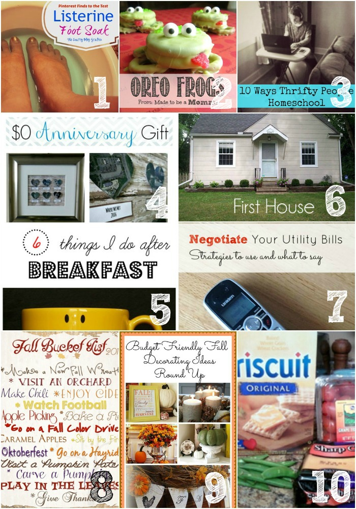 Thrifty Thursday Week 25 Features
