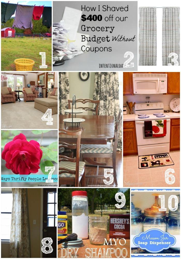 Thrifty Thursday Week 27 Top Ten