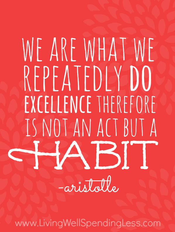 We are what we repeatedly do. Excellence there fore is not an act but a habit // Quotes about walking that will inspire you to get moving (The PumpUp Blog)