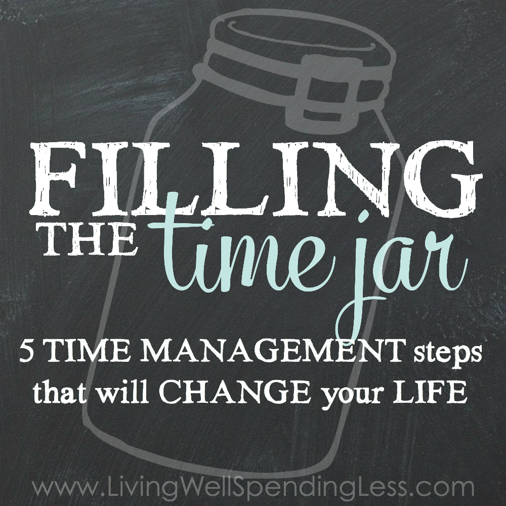 filling the time jar Square