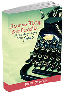 How to Blog for Profit (Without Selling Your Soul) If you have ever thought about blogging, you MUST read this book! Everything you need to know about creating awesome content and images, growing traffic, and monetizing your blog.