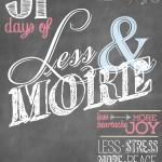 Reflection | 31 Days of Living Well & Spending Zero | Spiritual Life | Free PRintable Reflection Sheet