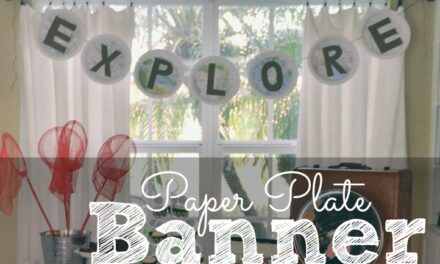 How to Make a Paper Plate Banner