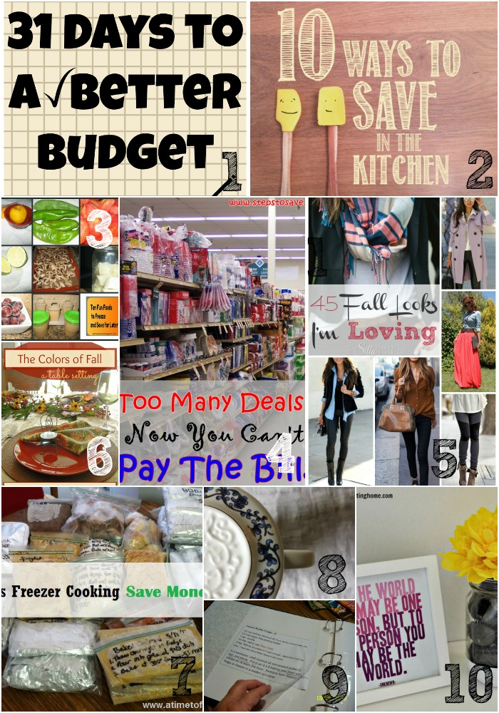 Thrifty Thursday Week 30 Top Ten