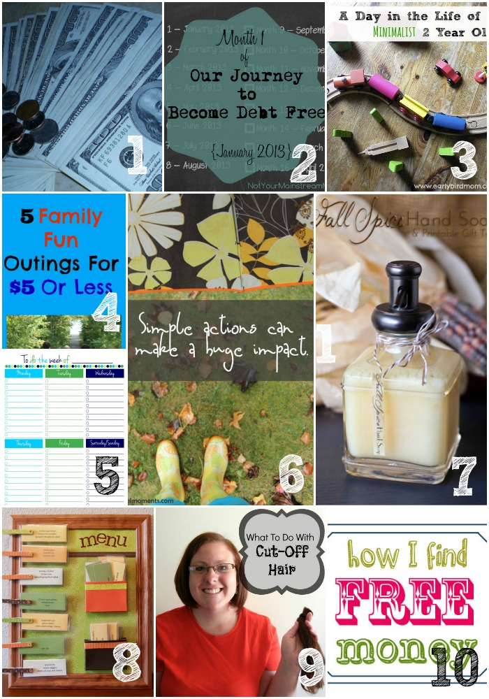 Thrifty Thursday Week 32 Top Ten