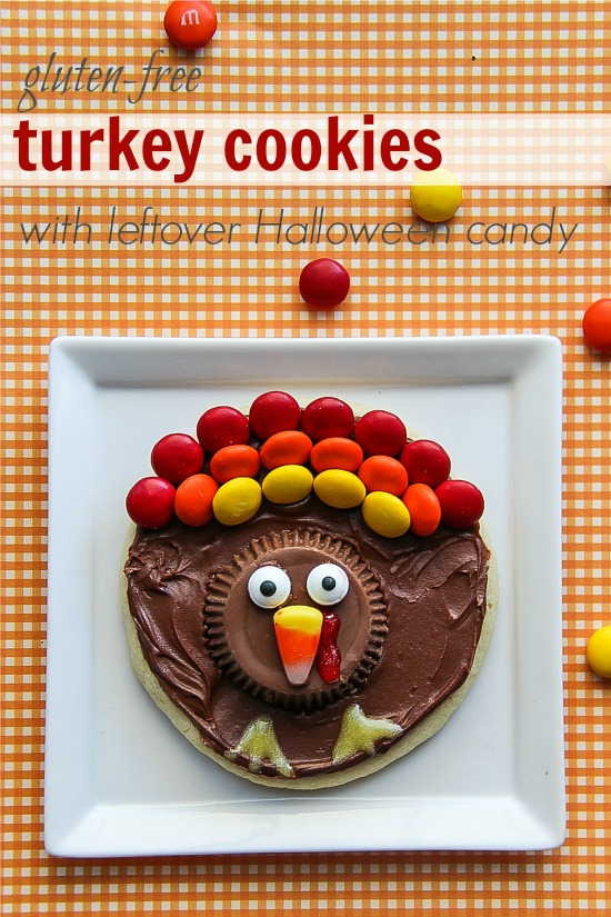 Gluten Free Turkey Cookie