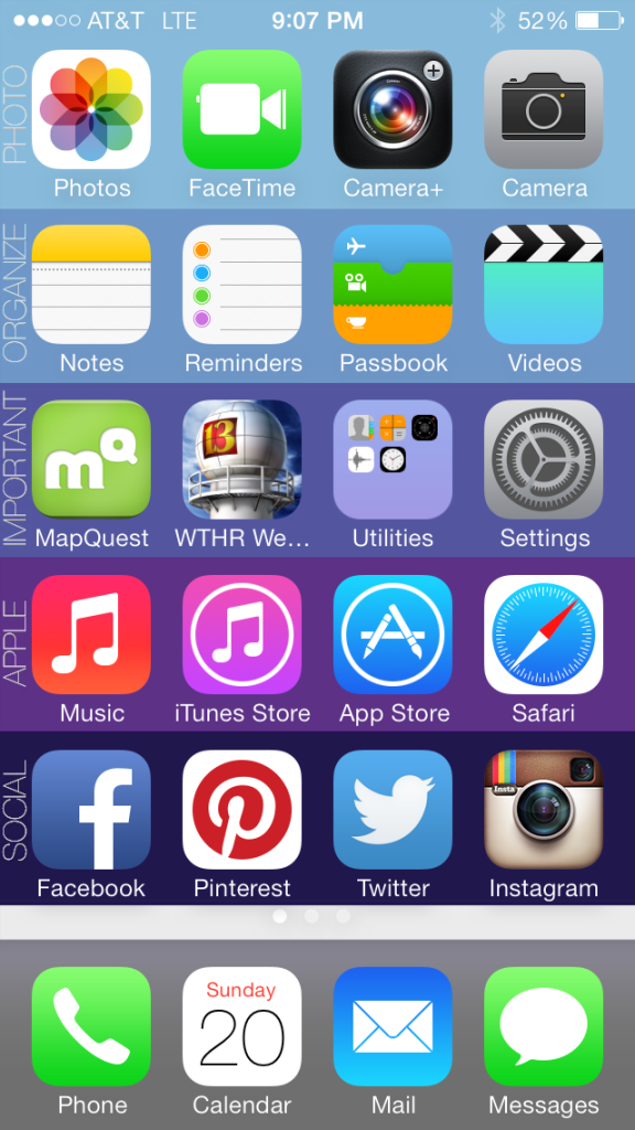 Organize your iPhone in 5 Minutes from Moritz Fine Designs