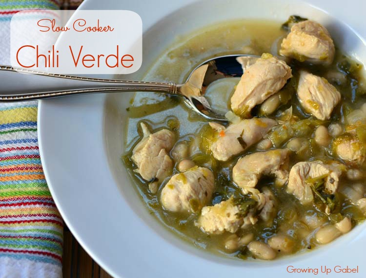 Slow Cooker Chili Verde