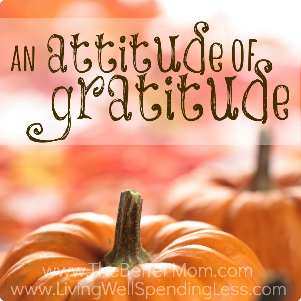 Check out these tips for your family to have an Attitude of Gratitude!