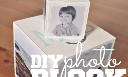 DIY Photo Block