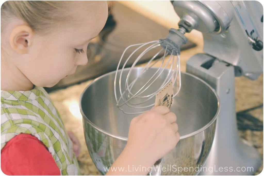 Place gelatin and ice water in the bowl of a stand mixer and set aside.
