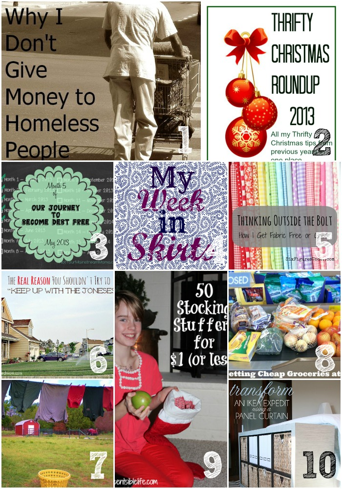 Thrifty Thursday Week 36 Top Ten