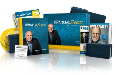 Dave Ramsey Financial Peace products.